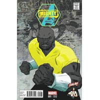 MIGHTY AVENGERS #1 CBLDF LATOUR VARIANT COVER