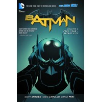 BATMAN TP VOL 04 ZERO YEAR SECRET CITY (N52) - Scott Snyder, James TynionIV