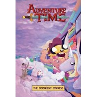 ADVENTURE TIME ORIGINAL GN VOL 10 OOORIENT EXPRESS - Jeremy Sorese