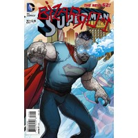 SUPERMAN #23.1 BIZARRO 3D obálka 2ND PRINT - Sholly Fisch