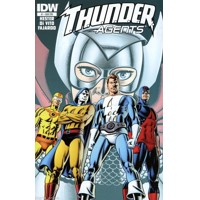 THUNDER AGENTS #1 JERRY ORDWAY SUBSCRIPTION VARIANT COVER