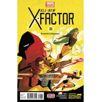 ALL NEW X-FACTOR #1 - Peter David