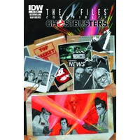 X-FILES CONSPIRACY GHOSTBUSTERS #1 - Erik Burnham