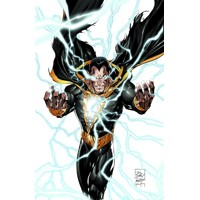 JUSTICE LEAGUE OF AMERICA #7.4 BLACK ADAM 3D 2nd print - Geoff Johns, Sterling...