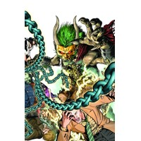 JUSTICE LEAGUE DARK #23.1 CREEPER 3D 2nd print - Ann Nocenti, Dan DiDio