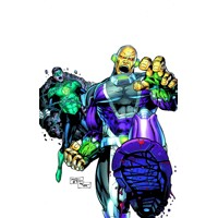 GREEN LANTERN #23.2 MONGUL 3D 2nd print - Jim Starlin