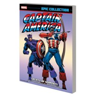 CAPTAIN AMERICA EPIC COLLECTION SOCIETY SERPENTS TP - Various