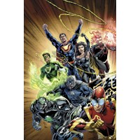 JUSTICE LEAGUE HC VOL 05 FOREVER HEROES (N52) - Geoff Johns