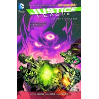 JUSTICE LEAGUE TP VOL 04 THE GRID (N52) - Geoff Johns