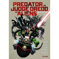 PREDATOR VS JUDGE DREDD VS ALIENS HC - John Wagner, Andy Diggle