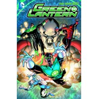GREEN LANTERN LIGHTS OUT HC (N52) - Robert Venditti & Various