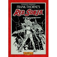 FRANK THORNE RED SONJA ART ED HC - Roy Thomas, Bruce Jones