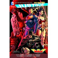 JUSTICE LEAGUE TRINITY WAR TP - Geoff Johns & Various