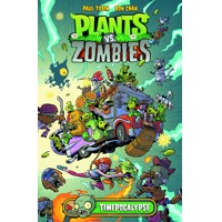 PLANTS VS ZOMBIES HC TIMEPOCALYPSE - Paul Tobin
