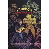 AMELIA COLE AND THE ENEMY UNLEASHED GN - Adam P. Knave, D.J. Kirkbride