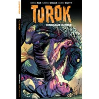 TUROK DINOSAUR HUNTER TP VOL 01 CONQUEST - Greg Pak