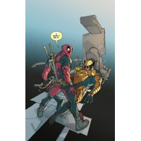 DEATH OF WOLVERINE #1 (OF 4) DEADPOOL MEMORIAL VAR - Charles Soule