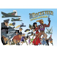 ROCKETEER JET POWERED ADVENTURES PROSE SC - Gregory Frost & Various