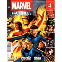MARVEL FACT FILES #4