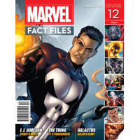 MARVEL FACT FILES #12