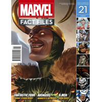 MARVEL FACT FILES #21