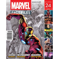 MARVEL FACT FILES #24