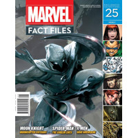 MARVEL FACT FILES #25