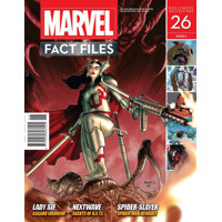 MARVEL FACT FILES #26