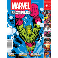 MARVEL FACT FILES #30