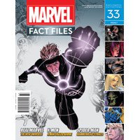 MARVEL FACT FILES #33