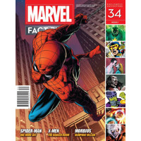 MARVEL FACT FILES #34