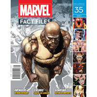 MARVEL FACT FILES #35
