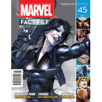 MARVEL FACT FILES #45