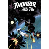 THUNDER AGENTS THE BEST OF WALLY WOOD HC - Various