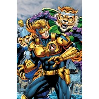 BOOSTER GOLD FUTURES END #1 3D - Dan Jurgens