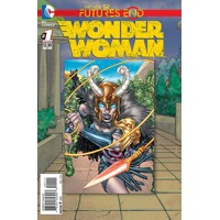 WONDER WOMAN FUTURES END #1 3D - Charles Soule