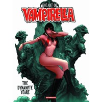 ART OF VAMPIRELLA DYNAMITE YEARS HC - Eric Trautmann & Various