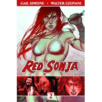 RED SONJA TP VOL 02 ART BLOOD & FIRE - Gail Simone