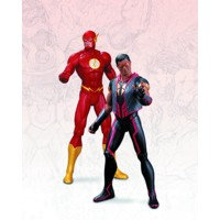 DC THE NEW 52 FLASH VS VIBE AF 2 PACK