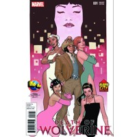 DEATH OF WOLVERINE #1 M&M ALAMO CITY COMIC CON EXCLUSIVE TERRY DODSON VARIANT