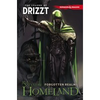 DUNGEONS & DRAGONS LEGEND OF DRIZZT TP VOL 01 HOMELAND - R. A. Salvatore, Andr...