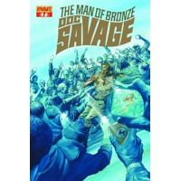 DOC SAVAGE #7 ROSS CVR - Chris Roberson