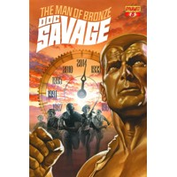 DOC SAVAGE #8 ROSS CVR - Chris Roberson