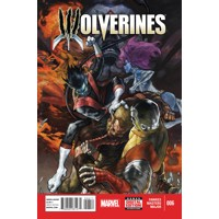 WOLVERINES #6 - Ray Fawkes, Charles Soule