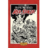 FRANK THORNE RED SONJA ART ED HC VOL 02 - Roy Thomas & Various