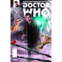 DOCTOR WHO: THE TENTH DOCTOR #7 REG GLASS - Robbie Morrison