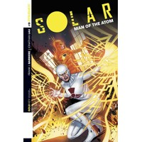 SOLAR MAN OF ATOM #9 CVR A LAMING MAIN - Frank J. Barbiere