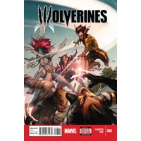 WOLVERINES #8 - Ray Fawkes, Charles Soule