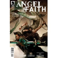 ANGEL AND FAITH SEASON 10 #12 MAIN CVR - Victor Gischler
