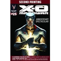 X-O MANOWAR #25 2ND PTG  - Robert Venditti & Various